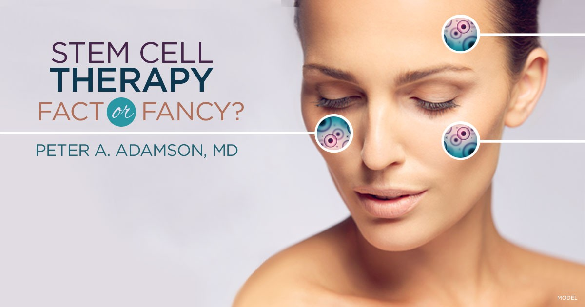 Stem Cell Therapy, Fact or Fancy? Banner
