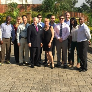 Dr. Adamson and the surgical team for the Rwanda surgical mission 2015