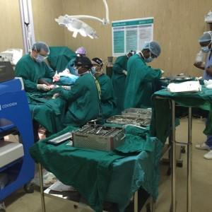 Dr Adamson Rwanda Surgical Mission 2015