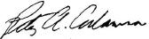 Peter A. Adamson Signature